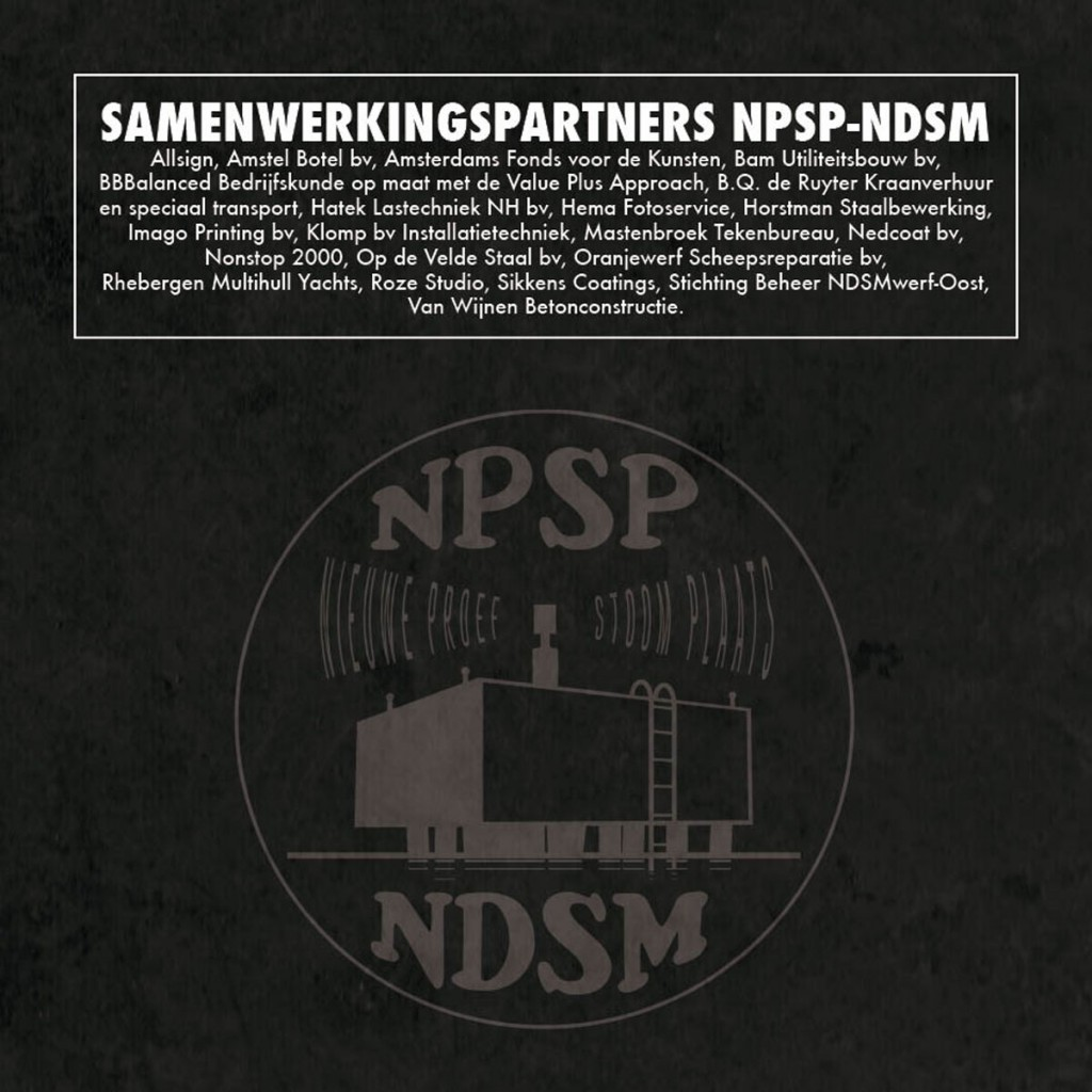 samenwerkingspartners NPSP-NDSM